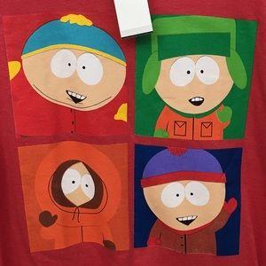 South Park T-Shirt, Cartman, Kenny, Stan & Kyle